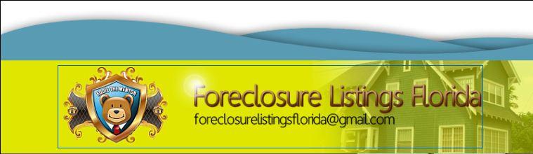 Foreclosure Listings Florida